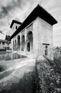 Jardines del Partal en la Alhambra